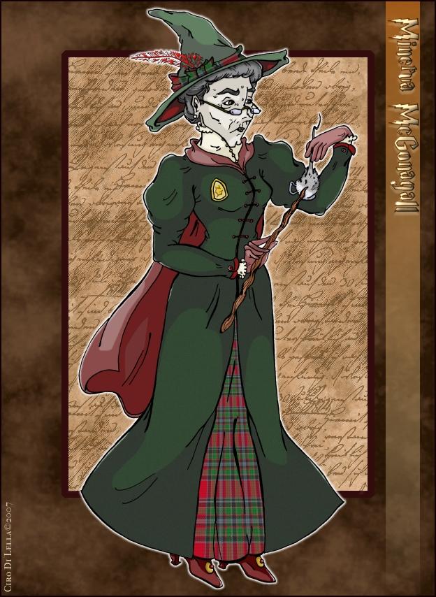 Minerva McGonagall by Ciro1984