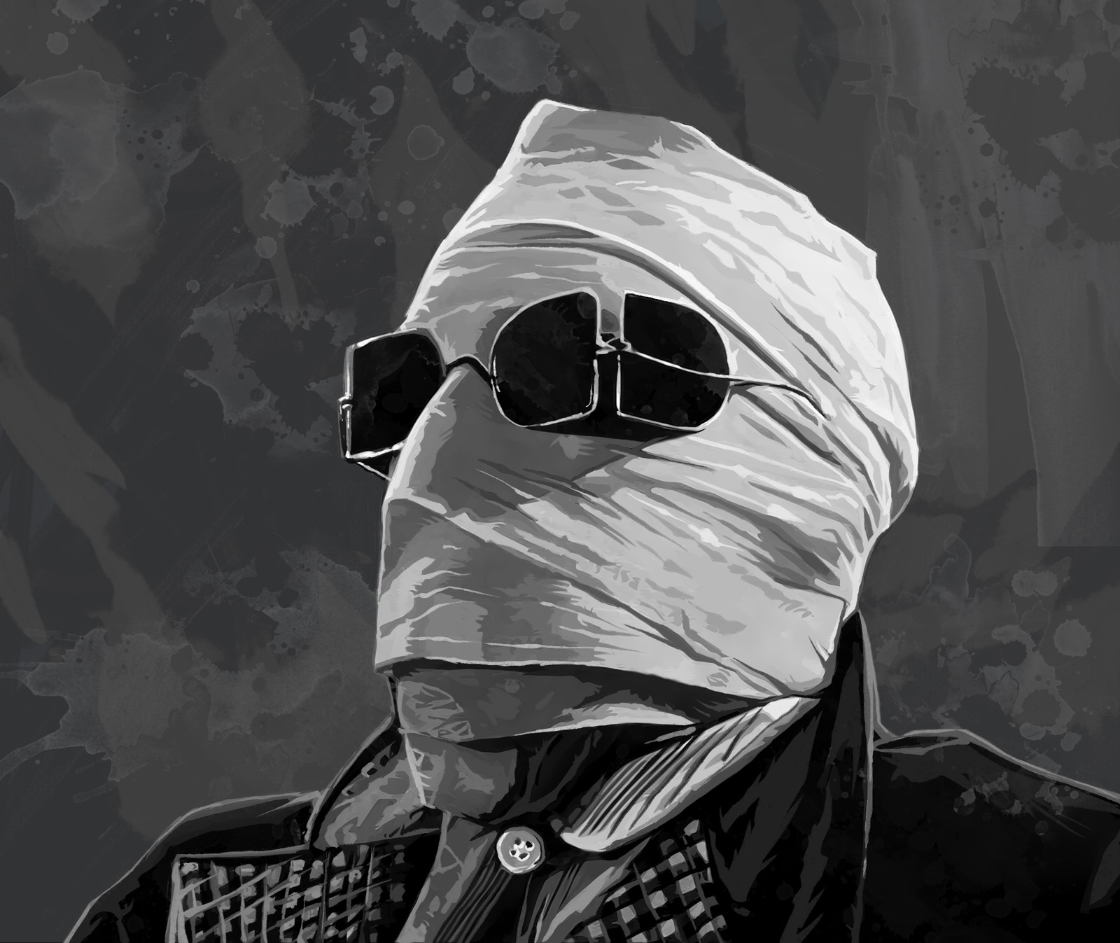 the invisible man d The invisible man is a song by english rock band queen, written by drummer roger taylor but credited to the band as a whole originally released on the band's 1989 album the miracle, it was also released as a single that same year.