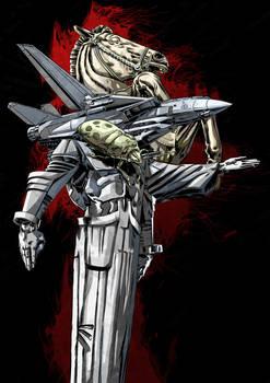 warrior (color version)