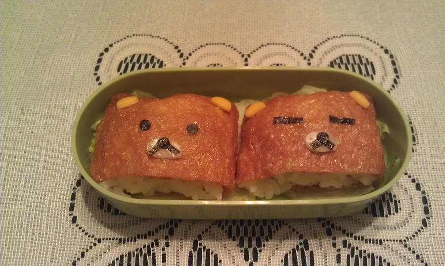 My First Bento: Tier Two by ChiisaiKabocha17