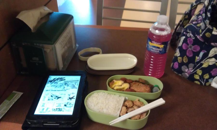 Eating my Bento at School by ChiisaiKabocha17