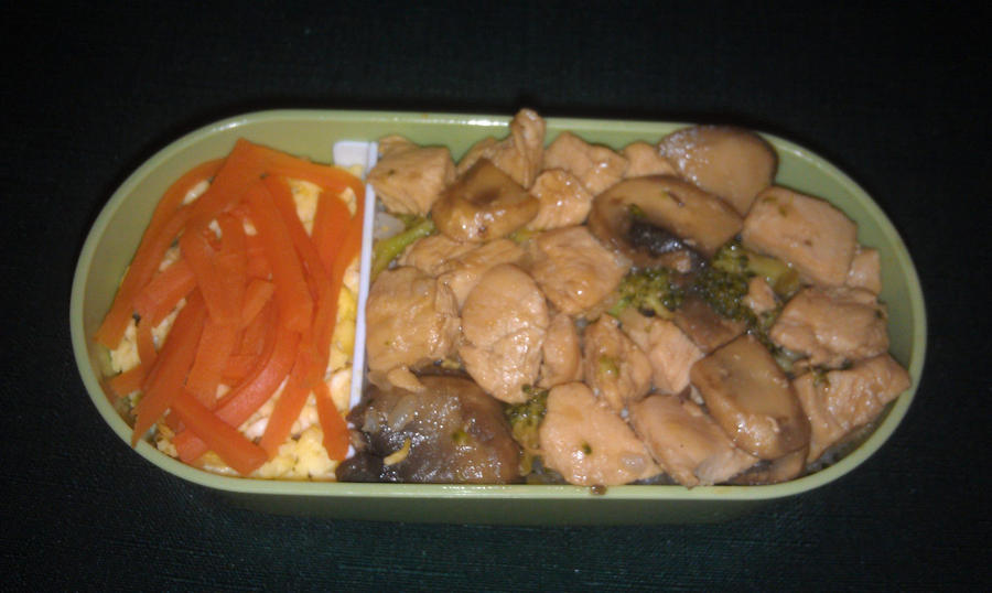 My Third Bento: Tier One by ChiisaiKabocha17