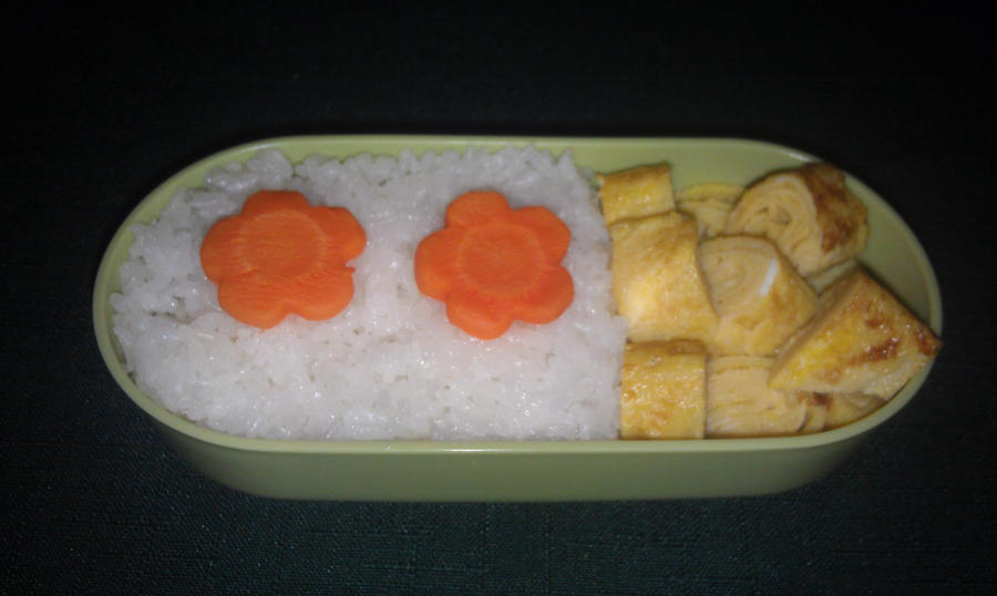 My Fifth Bento: Tier Two by ChiisaiKabocha17