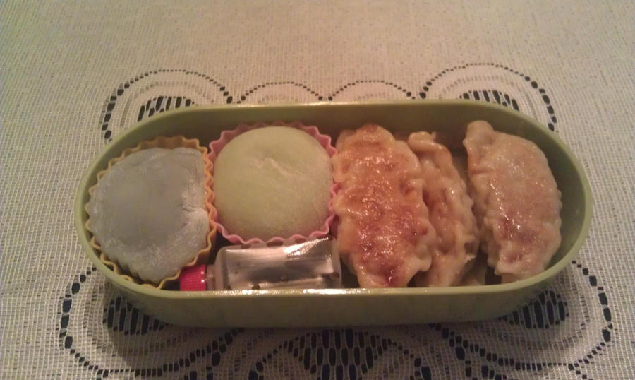 My Seventh Bento: Tier Two by ChiisaiKabocha17