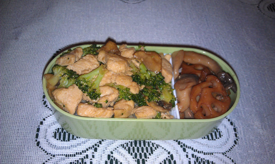 My Eighth Bento: Tier One by ChiisaiKabocha17