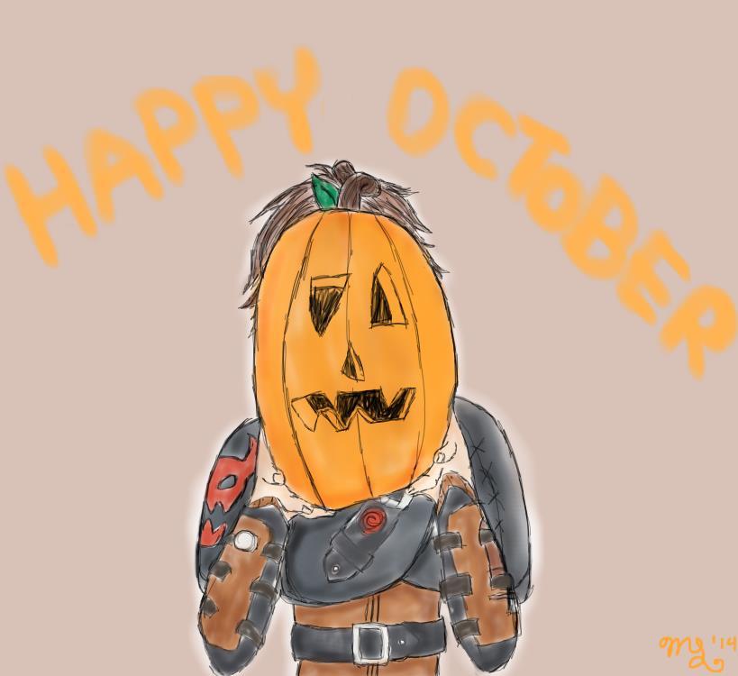 Happy October! by ChiisaiKabocha17