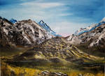 Edoras Oil-Painting