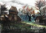 Crookback Bog (Watercolor)