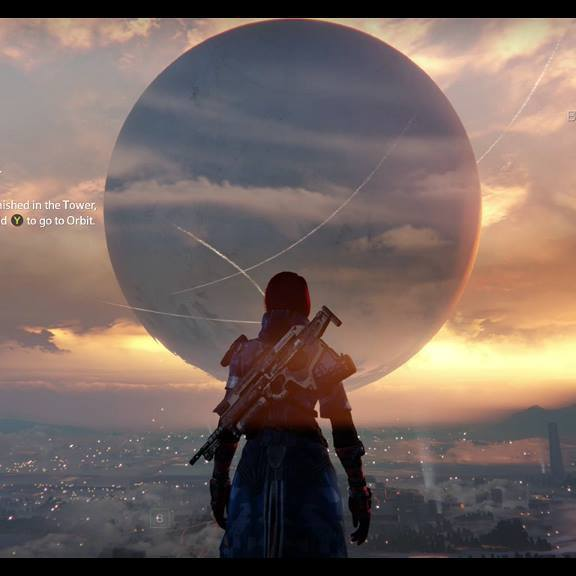 Destiny Beta Last Sunset by 13MATTallica96
