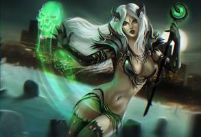 Xonia the necromanceress by NataliaSoleil