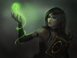 Necromancer Apprentace by NataliaSoleil