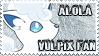 Alola Vulpix Fan Stamp by NLPZDudeYT