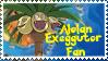 Alolan Exeggutor Fan Stamp by NLPZDudeYT