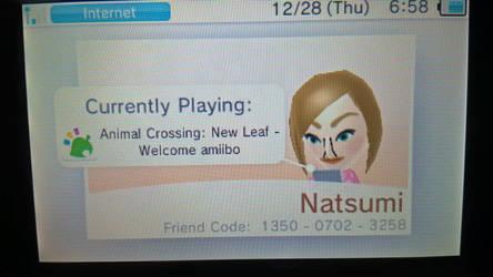 3DS Friend Code by NLPZDudeYT