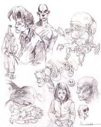 sketch by FLOWERZZXU