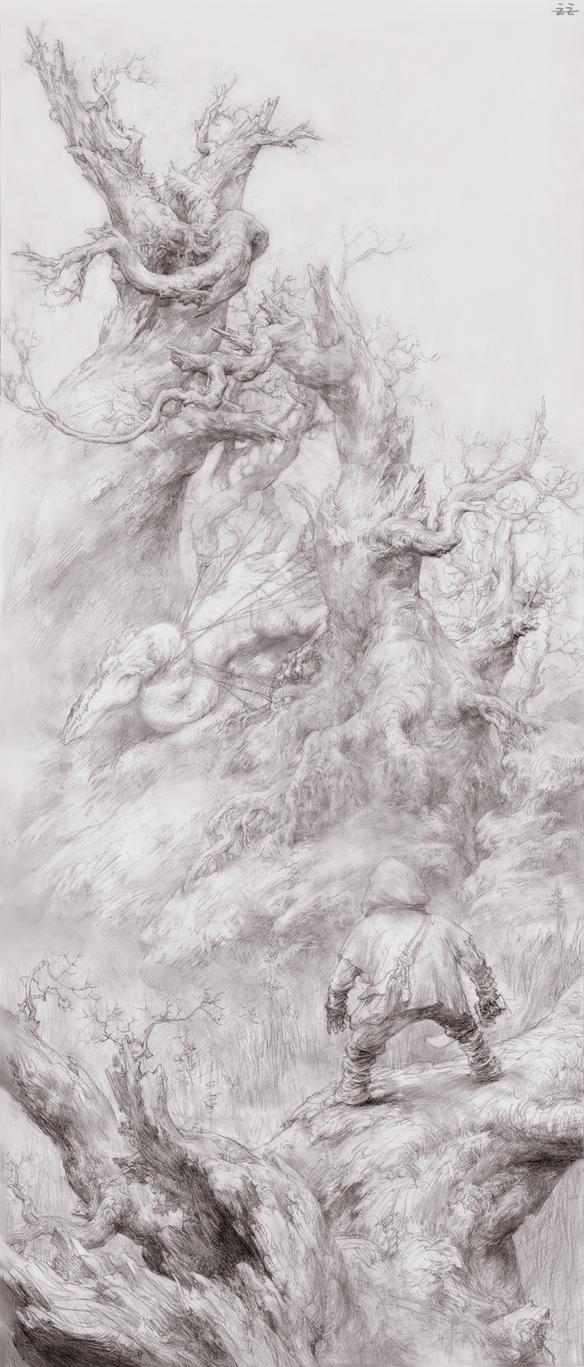 White Dragon by FLOWERZZXU