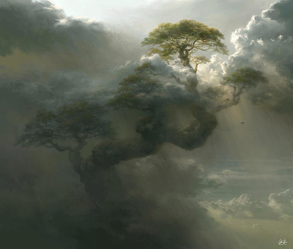 Giant Tree by FLOWERZZXU