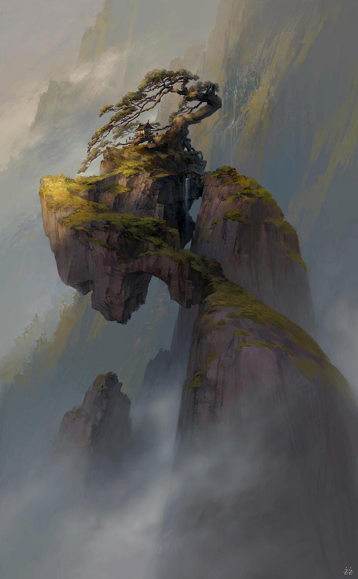 Qianyuan mountain by FLOWERZZXU
