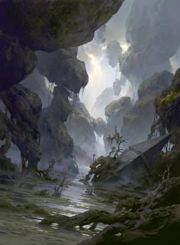 Magic the Gathering Basic Lands Swamp