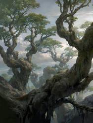 Magic the Gathering Basic Lands Forest
