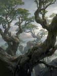 Magic the Gathering Basic Lands Forest