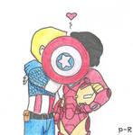 Cap 'n' Iron Man