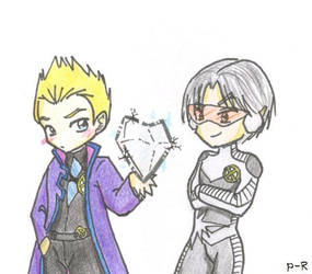 Iceman and Northstar by pixie-rings