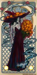Catrina by Ilustrandole
