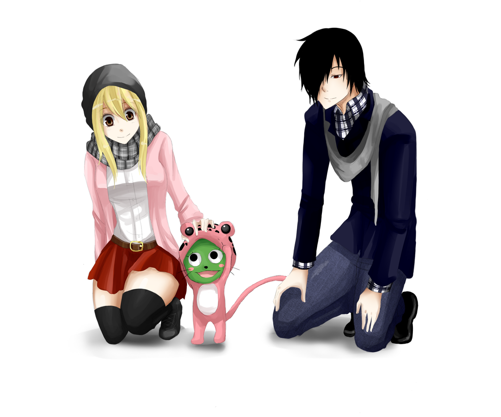 Lucy and Rogue by RaspberryPepper on DeviantArt