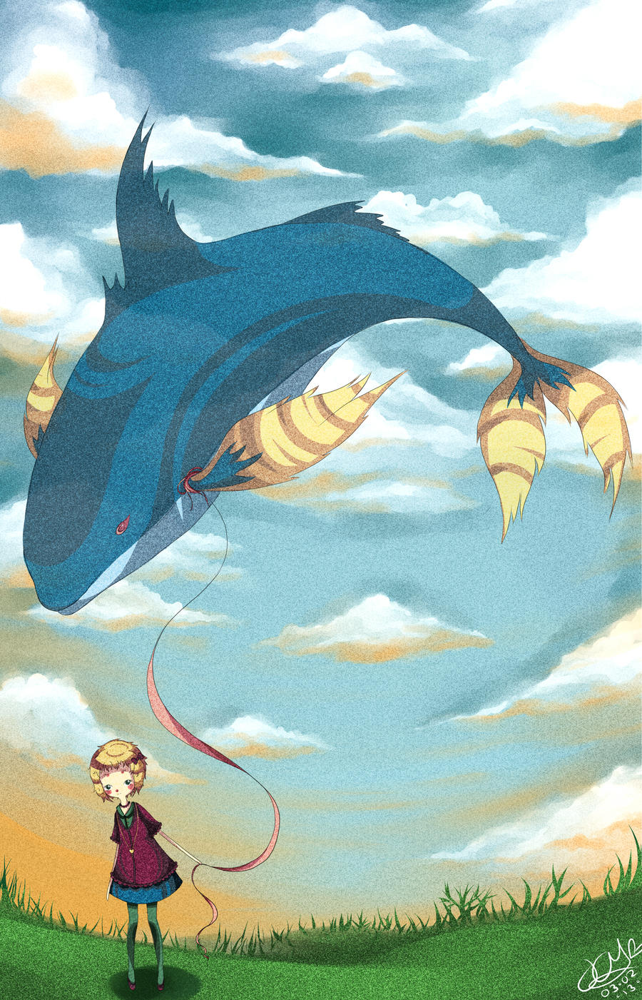 pet whale by JaneThePie