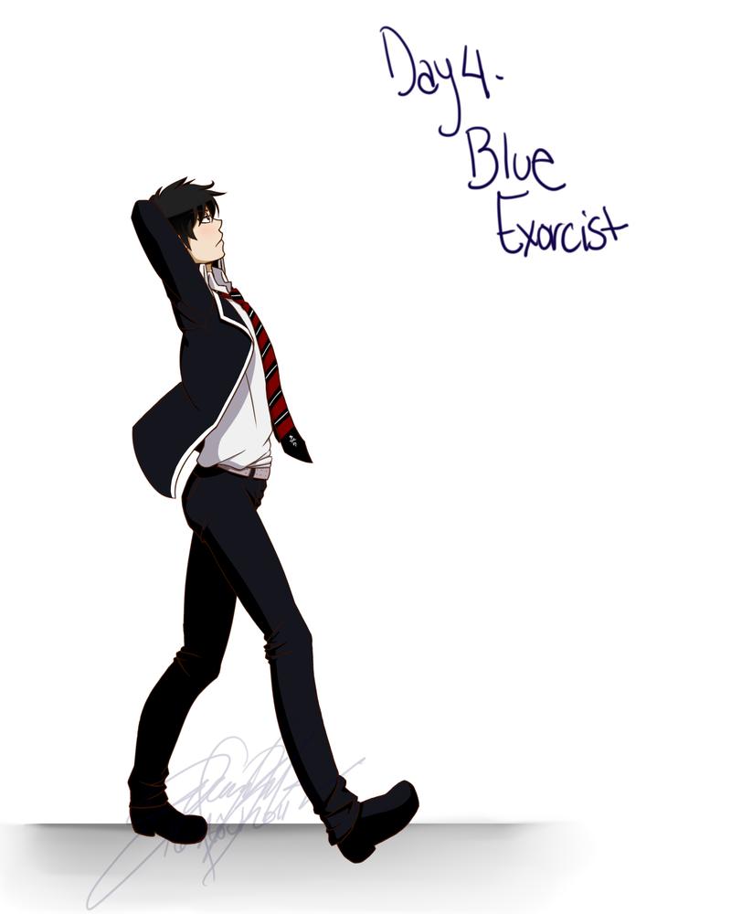 4 - Blue Exorcist by SakuraKeyblader78