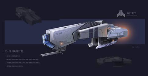 Light fighter by Seeker800