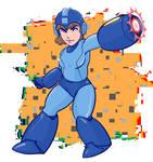 Mega Woman by holybasilbuddy