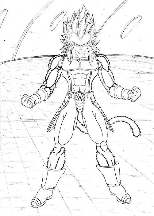 Imagenes De Goku Y Vegeta Ssj4 Para Dibujar - UKIndex