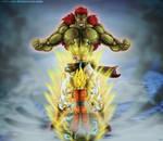 Fan art  DBZ : Bojack vs Gohan by Crakower