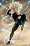 Fan art Dragon Ball Multiverse : Majin Bra