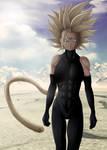 Fan art Dragon Ball Multiverse : Majin Bra by Crakower