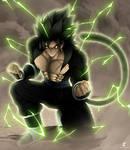 Fan art Dragon Ball fusion: Brotto Oozaru potentie