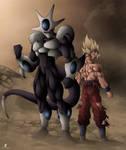 Fan art DBZ : Kura vs Goku ssj