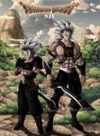 Fan art Dragon Quest XII :  Rhaegar et Aegon by Crakower