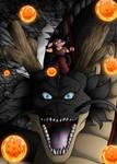 Fan art Dragon Ball : Sangoku Shenron by Crakower