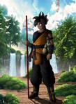 Dragon Ball Multiverse :  Uub master by Crakower
