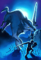 The Great Grey Wolf, Sif by Immp