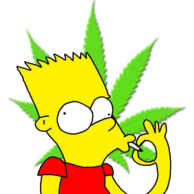 Bart Simpson Smoking Weed By Bartsimpsonfan2015 On Deviantart