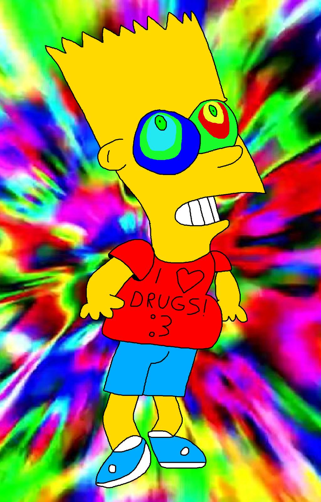 Bart Simpson on Acid by BartSimpsonFan2015 on DeviantArt
