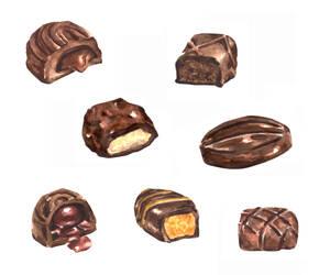 Chocolate Truffles by erika-lancaster85