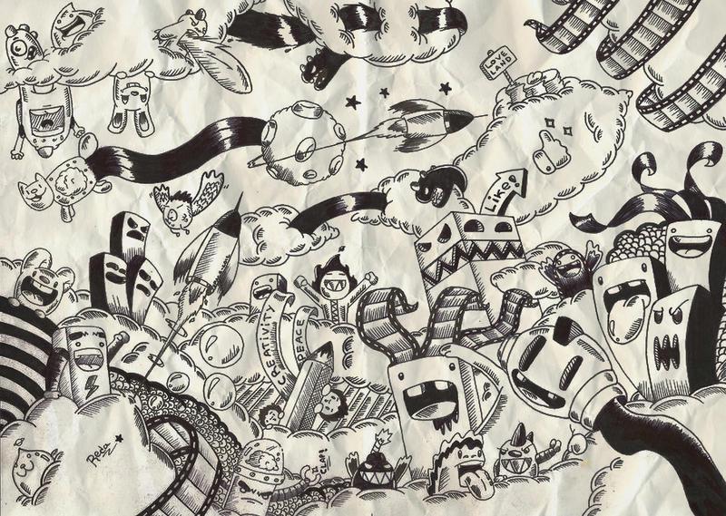 random drawings wallpaper - photo #39