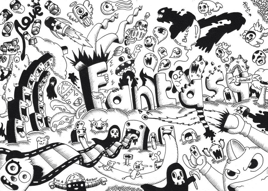 Doodle Random Doodle 7 Fantasy By Redstar94 On Deviantart