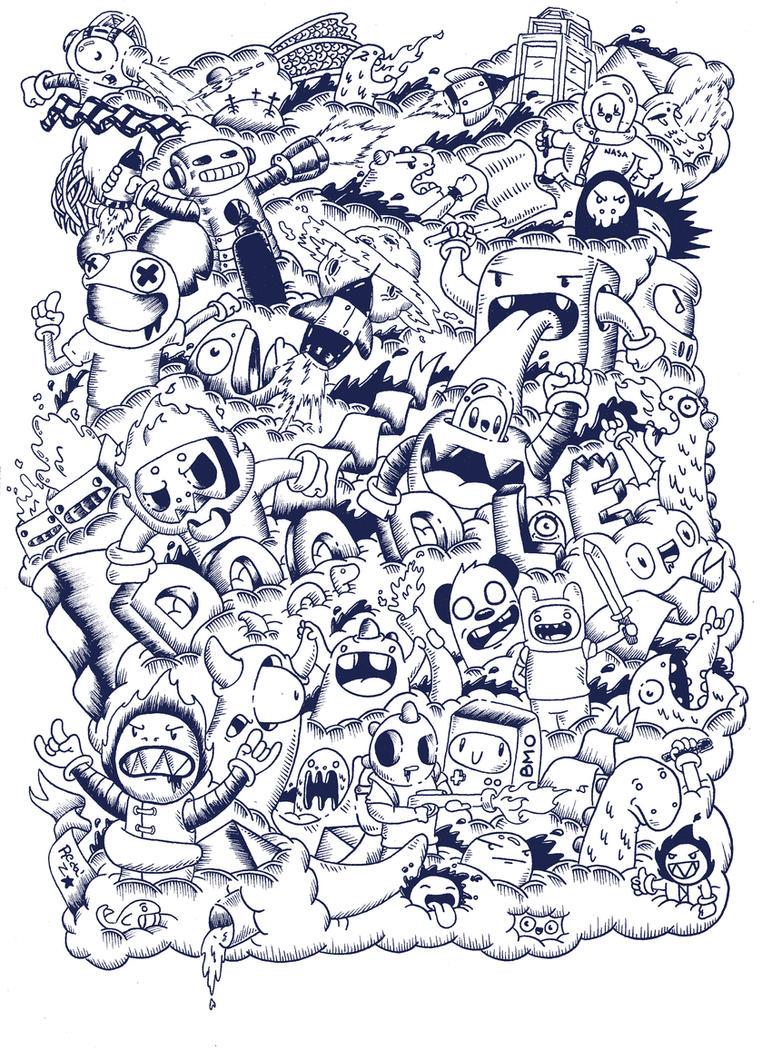 Doodle t shirt design by redstar94 on deviantart - Doodle dessin ...