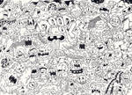 Doodle: doodleized monsters